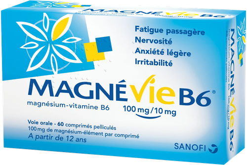 MAGNEVIE B6 100MG/10MG CPR 60