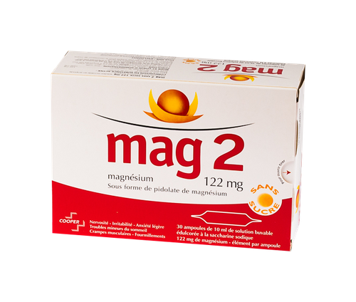 MAG 2 122MG 30 AMP BUV S/S 10ML