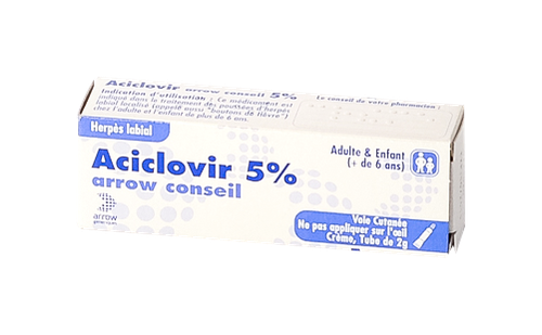 ACICLOVIR 5% ARROW CREME TUBE 2G