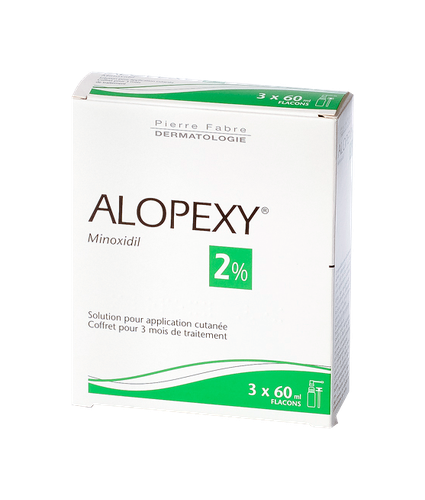 ALOPEXY 2% SOL SPRAY 3 flacons de 60ml