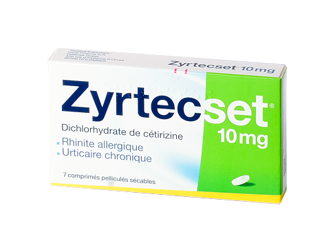 ZYRTECSET 10MG 7 CPR SECABLES