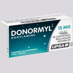 DONORMYL 15MG COMPRIMÉ SÉCABLE 10