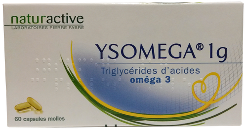 YSOMEGA 1G CAPS 60