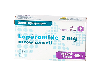 LOPERAMIDE 2MG ARROW CONS GELULE12