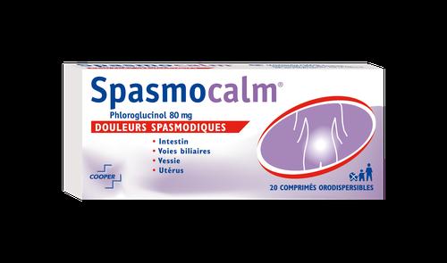 SPASMOCALM 80MG 20COMPRIMÉS ORODISPERSIBLES