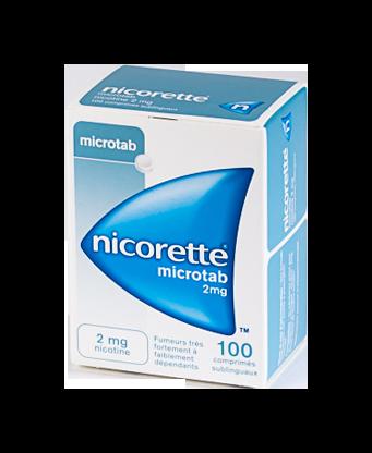 NICORETTE 2MG 100 MICROTABS ORIGINAL