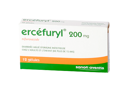 Pharmacie de la Tour à GENAS - Ercefuryl 200Mg Gelule 12