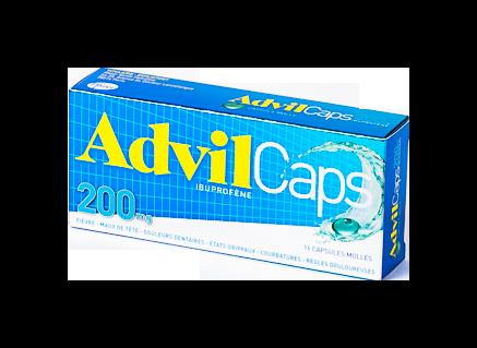 ADVILCAPS 200MG CAPS 16