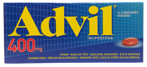 ADVIL 400MG 14 COMPRIMES