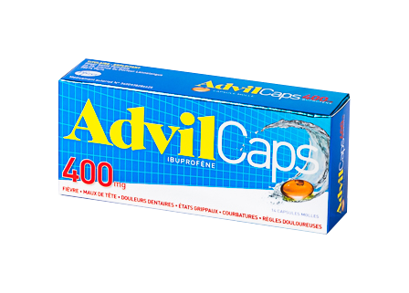 ADVILCAPS 400MG 14 CAPSULES