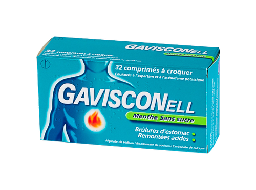 GAVISCONELL MENTHE CPR CROQ S/S 32