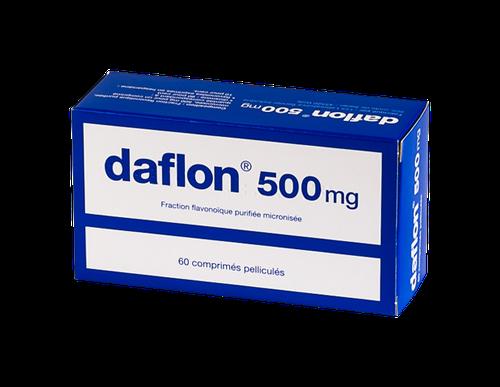 DAFLON 500MG Comprimés bte de 60