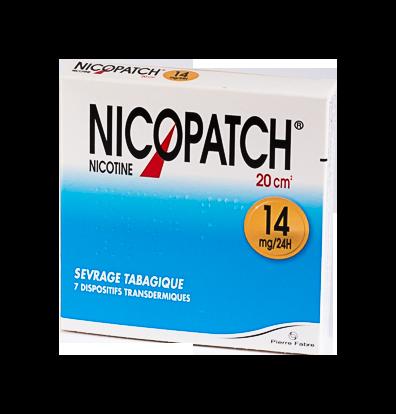 NICOPATCH 14MG/24H 7DISPOSITIFS TRANSDERMIQUES