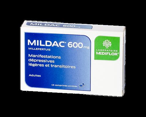 MILDAC 600MG CPR 15