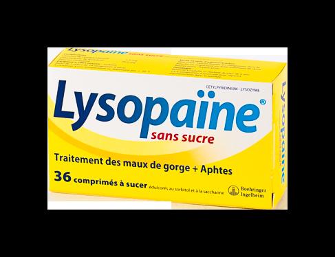 - LYSOPAINE comprimés à sucer 18X2