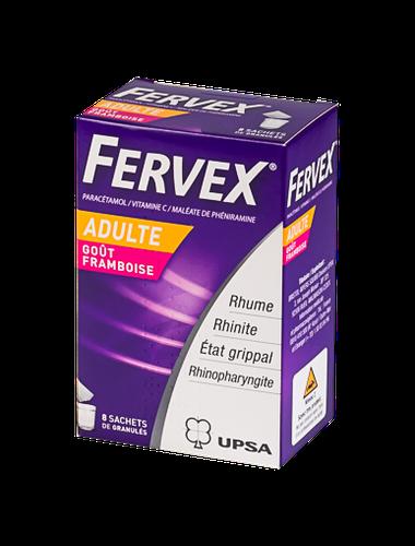 FERVEX AD 8 SACHETS FRAMB
