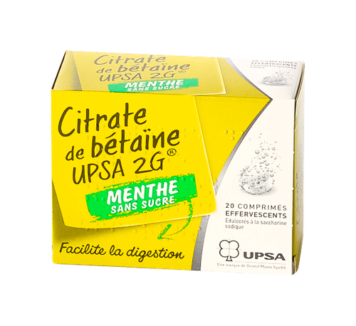 CITRATE BETAINE UPSA M S/S CP EF20