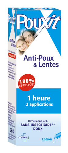POUXIT LOTION ANTI-POUX FLACON 100 ML