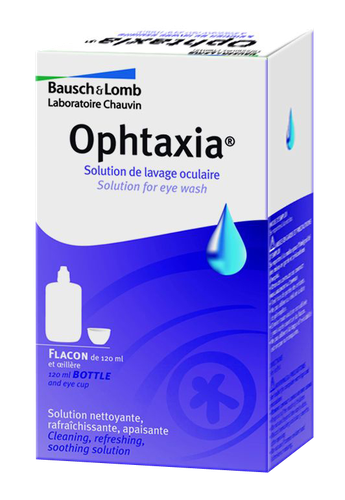 OPHTAXIA SOL LAV OCULAIRE 120ML