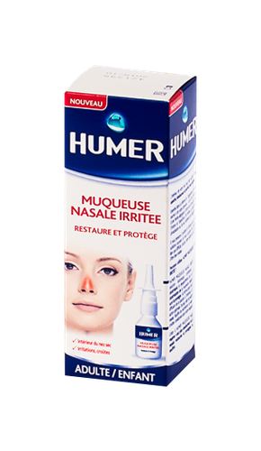 HUMER SOLUTION NASALE MUQUEUSE IRRITE 20ML