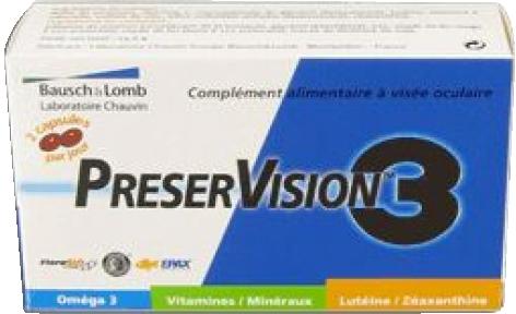 PRESERVISION 3, 60 CAPSULES