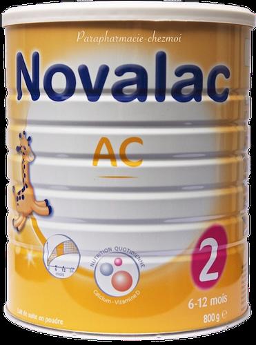 NOVALAC AC 2AGE LAIT POUDRE BOITE800G
