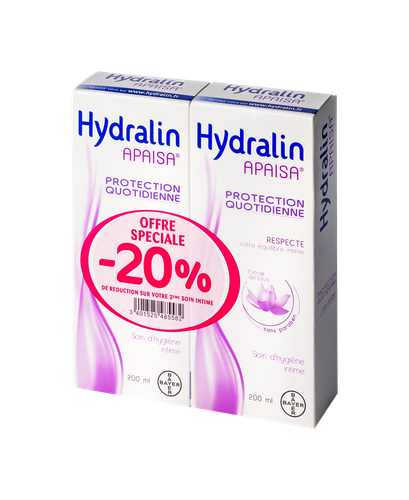 HYDRALIN APAISA LOT 200MLX2