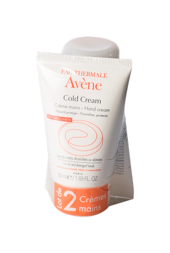 AVENE COLD CREAM MAINS TUBE 50ML X2