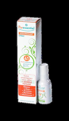 Puressentiel Assainissant Spray Aérien aux 41 Huiles Essentielles 200 ml