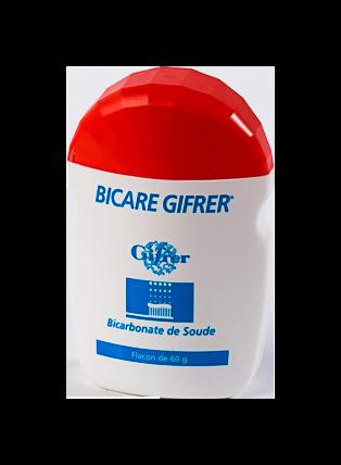 BICARE GIFRER POUDRE DENT FLACON 60G
