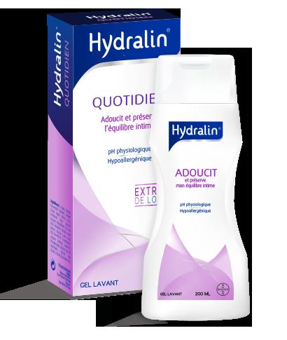 HYDRALIN APAISA Usage quotidien Savon hygiène intime flacon 200ml