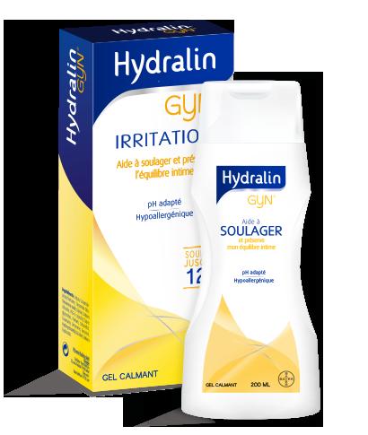 HYDRALIN GYN Irritations Savon hygiène intime flacon 200ml