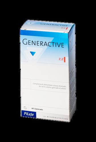 Pileje Generactive Rr 60 Comprimés. photo produit. Ce complément alimentaire,  issu de la Recherche en Micronutrition, est composé   - d extrait de raisin  ... 62fa987d3cf0