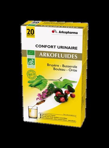 ARKOFLUIDE  CONFORT URINAIRE BIO AMPOULES 20