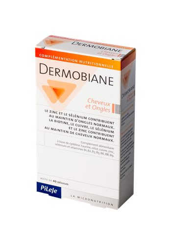 DERMOBIANE CHEVEUX ONGLES 40 GELULES