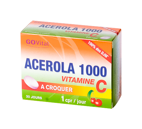 ACEROLA 1000 CPR A CROQ 30