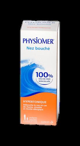 PHYSIOMER HYPERTONIQUE NASAL FLACON 135ML