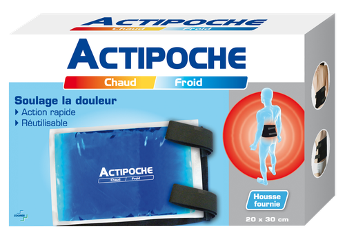 ACTIPOCHE COUSSIN 20X30CM