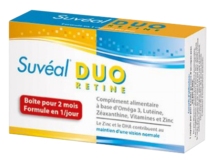 SUVEAL DUO 60 CAPSULES 2 MOIS