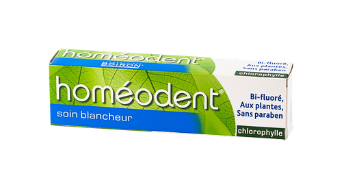 HOMEODENT SOIN BLANCHEUR CHLOROPHYLE 75ML