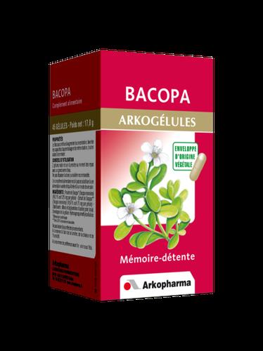 BACOPA ARKOGELUL GELULES 45