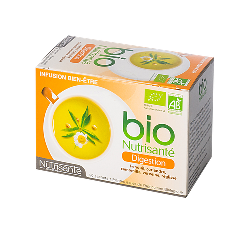 NUTRISANTE TISANE DIGESTION SACH20