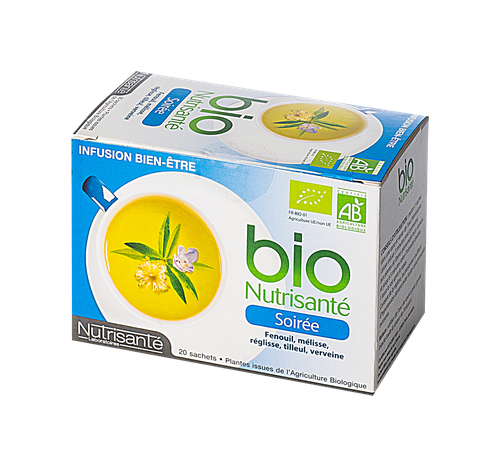 NUTRISANTE INFUSION SOIREE SACH20