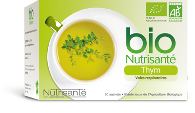 NUTRISANTE INFUSION THYM SACH20