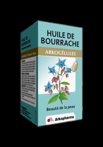 HUILE DE BOURRACHE ARKOGELULES 60 CAPSULES