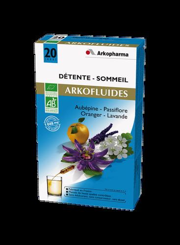 ARKOFLUIDE DETENTE BIO AMPOULES  20