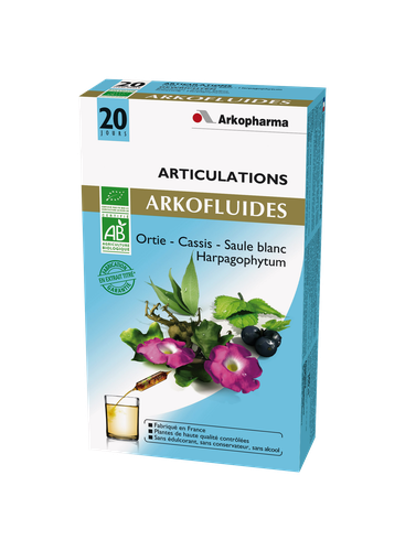ARKOFLUIDE ARTICULATIONS  BIO AMPOULES 20