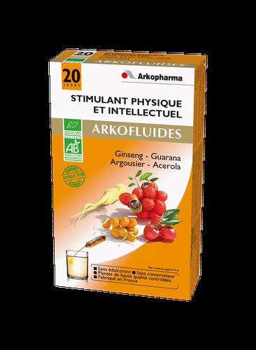 ARKOFLUIDE STIMULANT BIO 20 AMPOULES