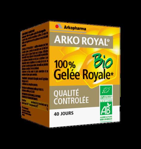 ARKOROYAL GELEE ROYALE BIO POT 40G