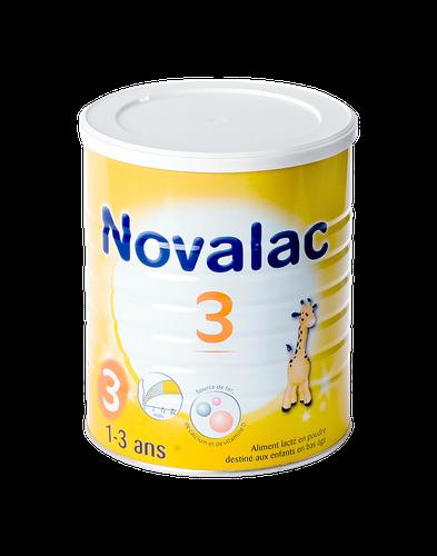 NOVALAC 3 lait en poudre de 1 à 3 ans 800G
